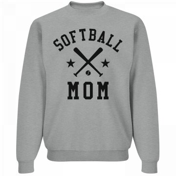 Cozy Softball Mom