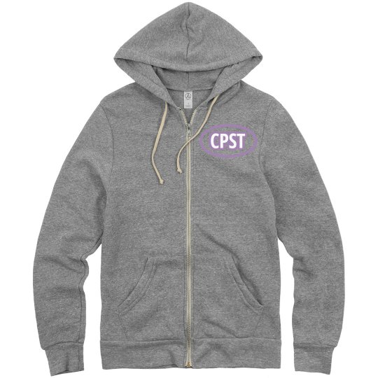CPST Oval Design Zip-up