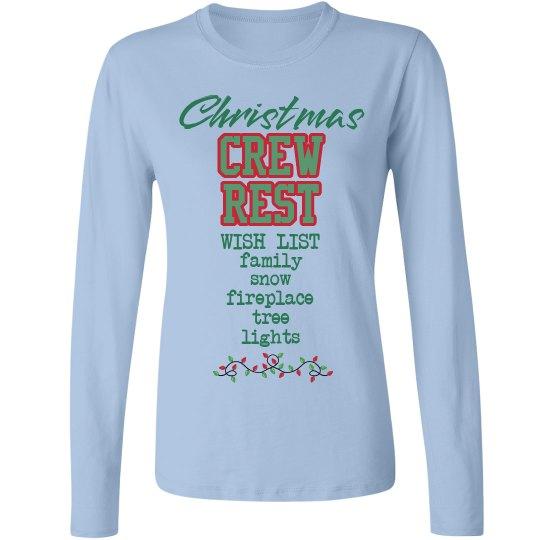 CR Christmas wish list