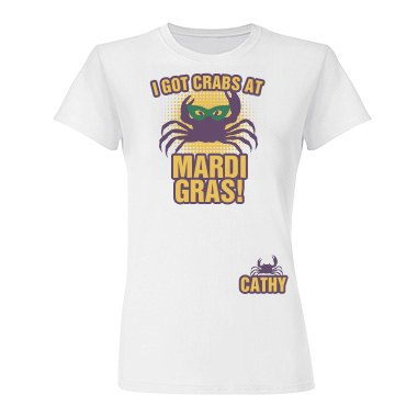 Crabs at Mardi Gras