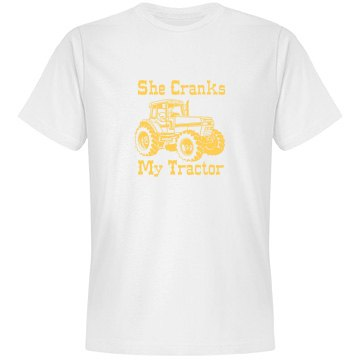 Cranks My Tractor Mens