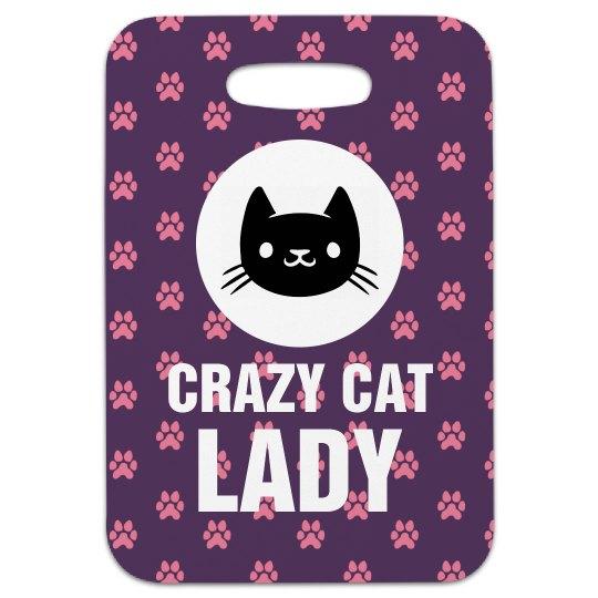 Crazy Cat Lady Tag