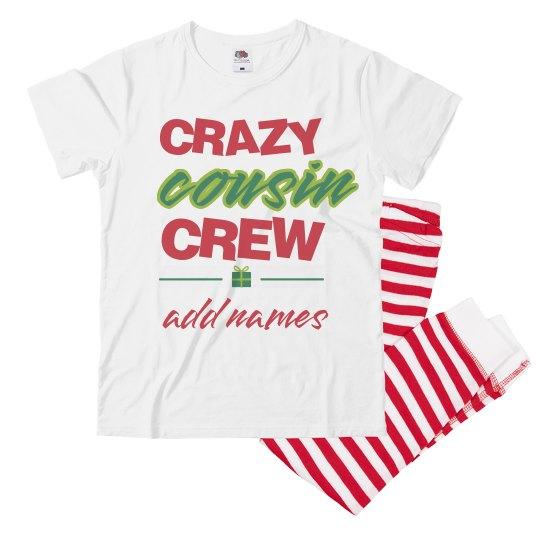 Crazy Cousin Crew Custom Names