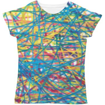 Crazy Squiggle T-Shirt