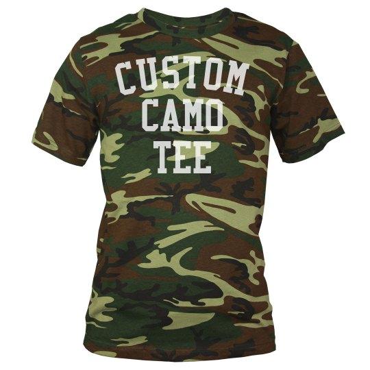 Create a Custom Camo Tee