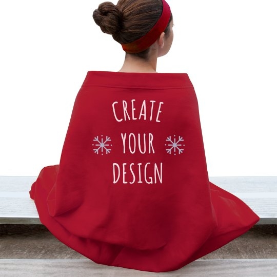 Create a Custom Cozy Christmas Blanket