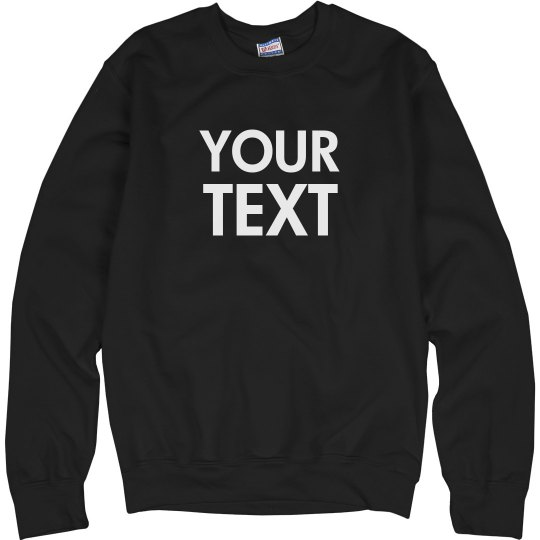 Create a Custom Crewneck Sweatshirt