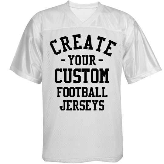 Create a Custom Football Jersey