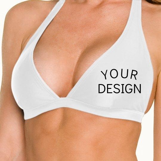 Create a Custom Halter Bikini Top