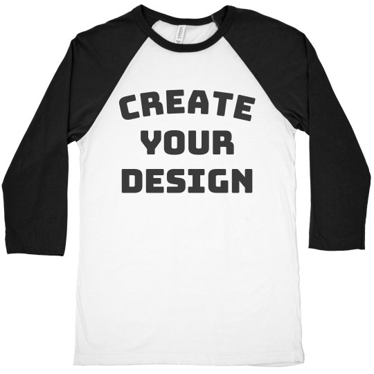 Create A Custom Raglan Shirt