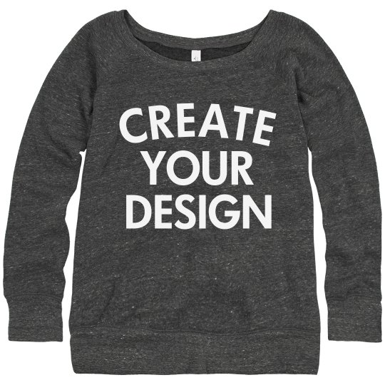Create a Custom Slouchy Sweater