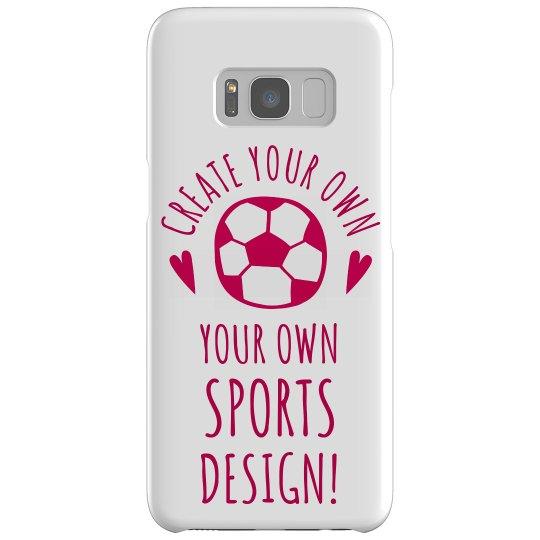 Create A Custom Sports Phone Case