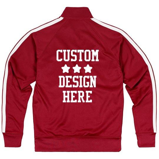 Create a Custom Sporty Track Jacket
