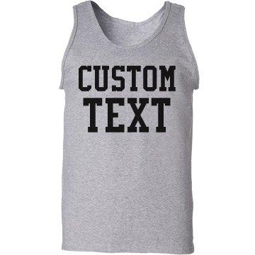 Create a Custom Unisex Tank