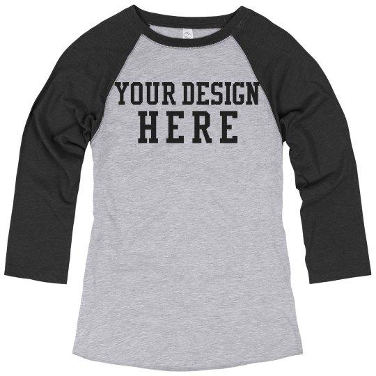 Create a Custom Vintage Raglan