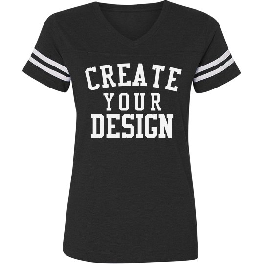 Create a Custom Vintage V-Neck