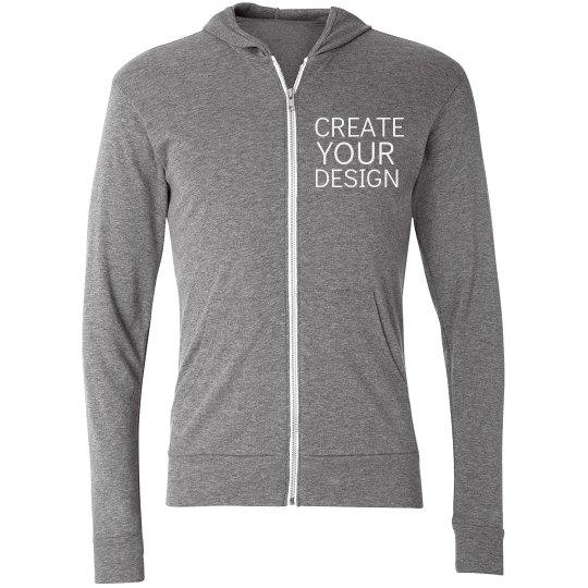 Create a Custom Zip Hoodie