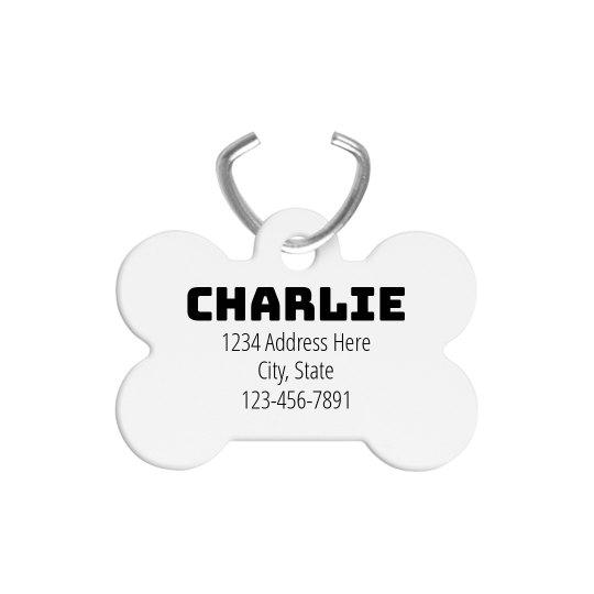Create a Customizable Dog Tag