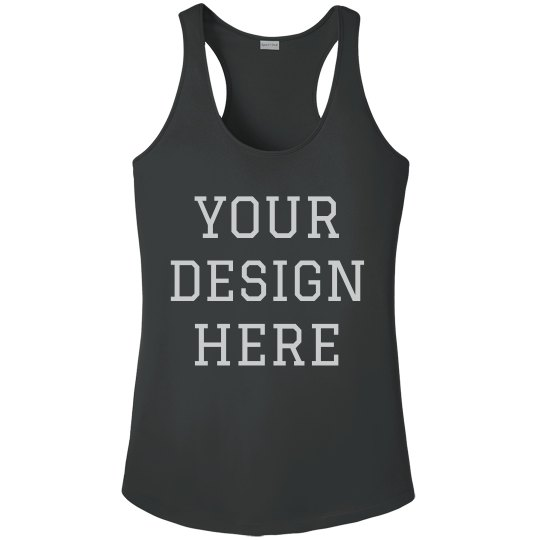 Create a Customizable Workout Racerback