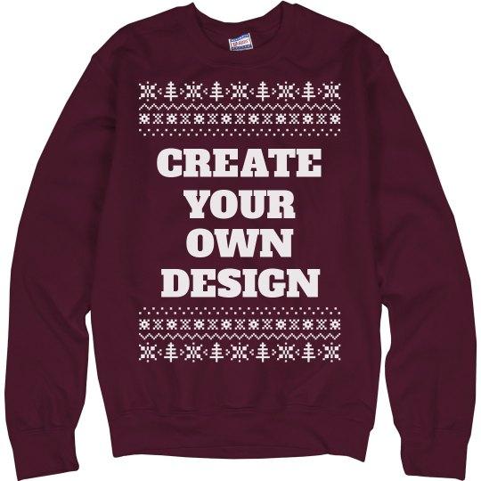 Create Custom Christmas Sweaters