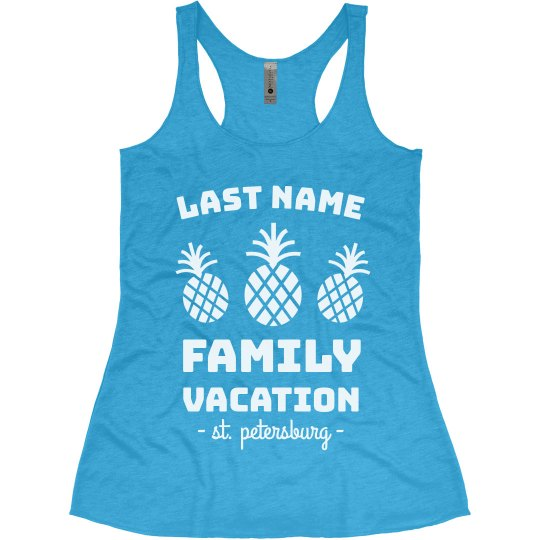 Create Custom Family Beach Vacation Tanks
