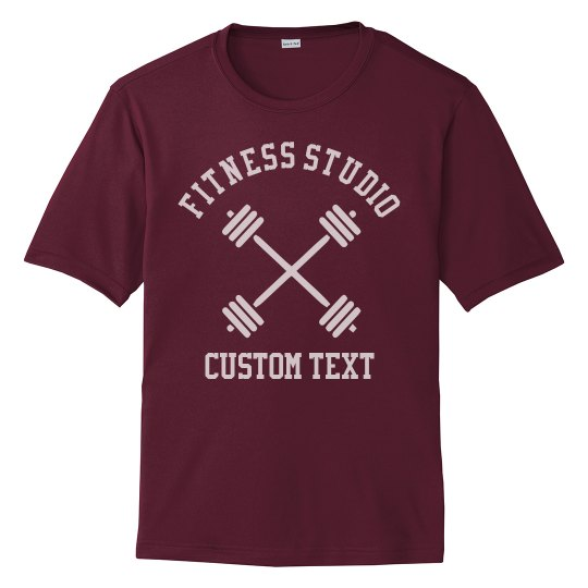 Create Custom Fitness or Gym Studio Workout Tees