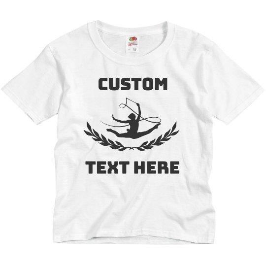 Create Custom Gymnastics Youth Kids Tee