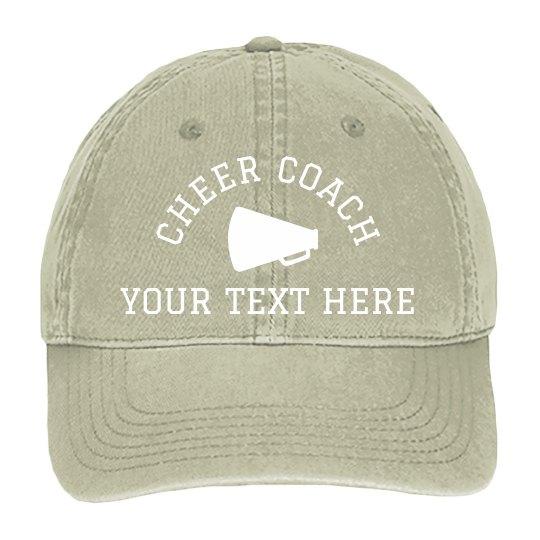 Create Your Custom Cheer Coach Gift