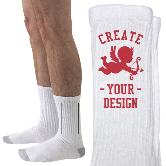 Create your Custom Cupid Run Socks