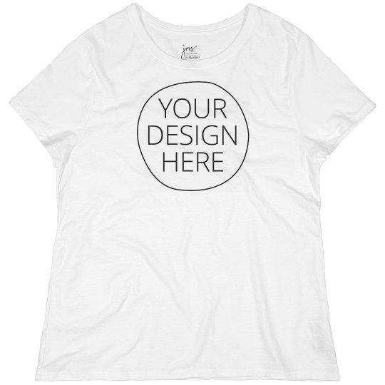 Create your Custom Design Plus Tee