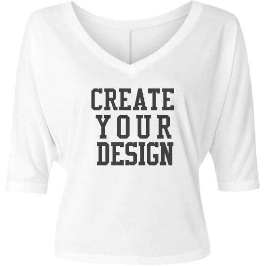 Create your Custom Half-Sleeve V-Neck