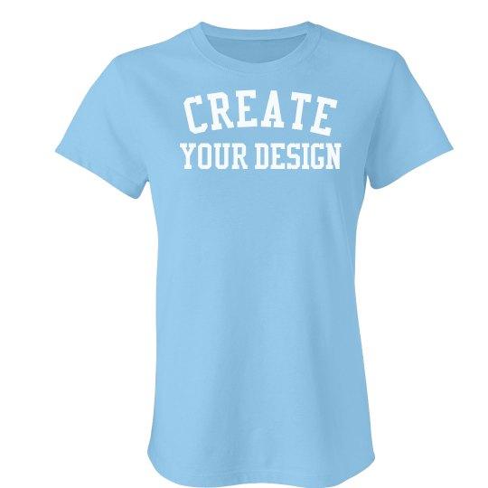 Create your Custom Jersey Tee