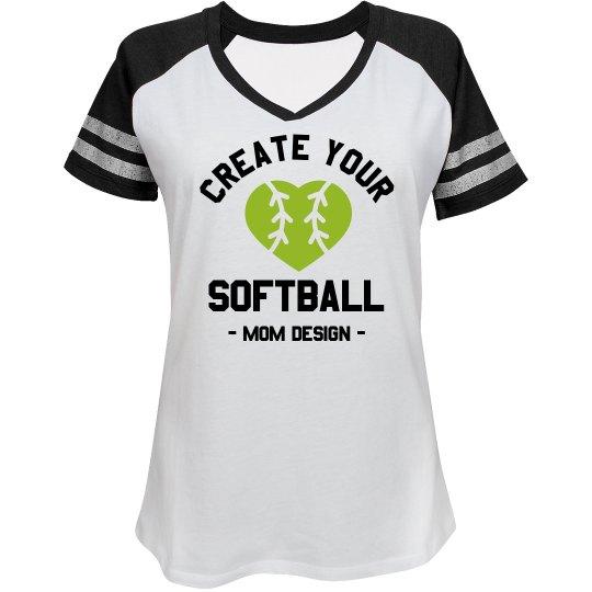 Create Your Custom Softball Mom