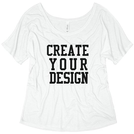 Create your Custom Trendy Tee