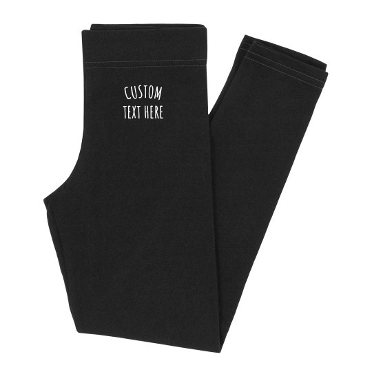 Create Your Custom Youth Leggings