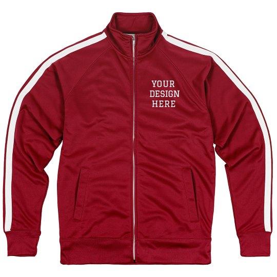 Create your Design Custom Sporty Track Jacket