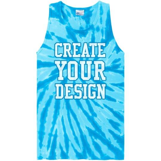 Create Your Design Tie-Dye Tank