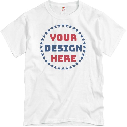 Create Your Own 4th of July Design Tee