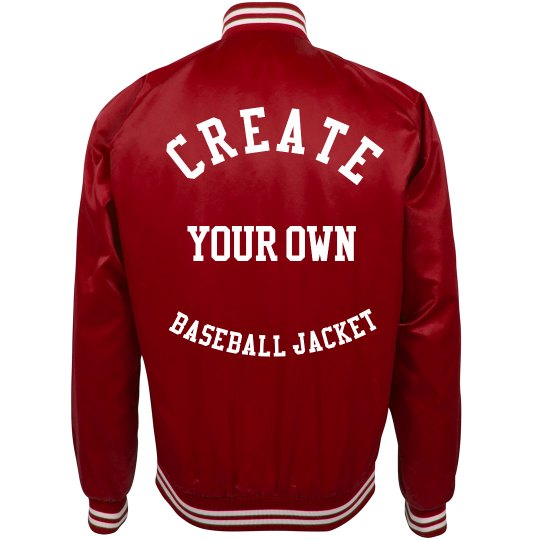 Create Your Own Baseball Jacket