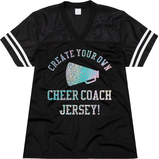 Create Your Own Cheer Coach Jersey