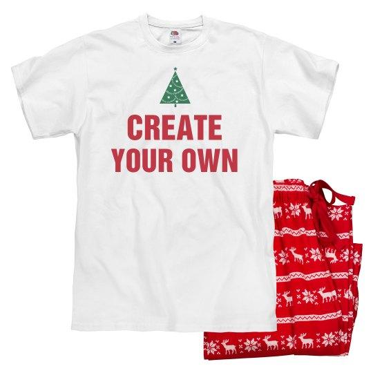 Create Your Own Christmas Pajamas