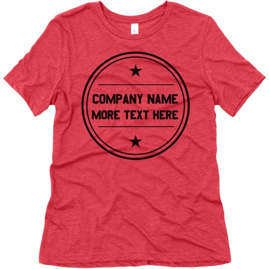 Create Your Own Company Tee