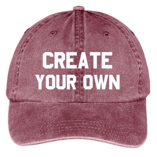 Create Your Own Custom Hat