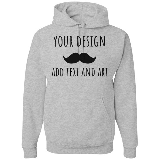 How To Design Your Own Hoodie At Home: Create Your Own Custom Hoodie Unisex Basic Promo Hoodie