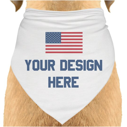 Create Your Own Dog 4th of July