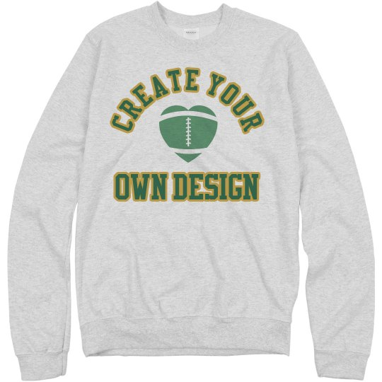 Create Your Own Football Sweatshirt