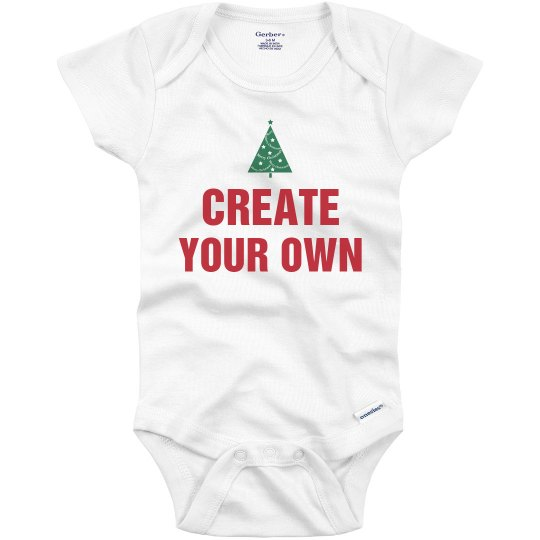 Create Your Own Holiday Onesie