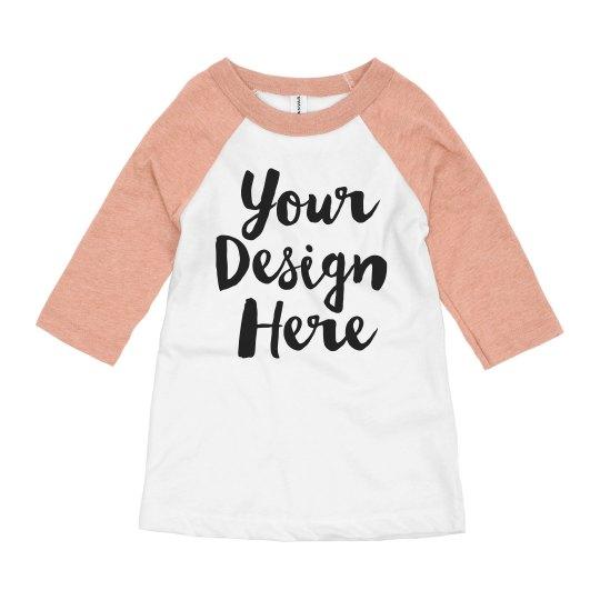 Create Your Own Kids Raglan