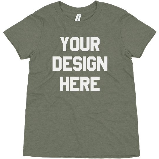 Create Your Own Kids Triblend Tee