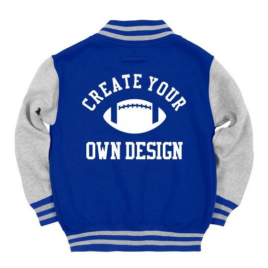 Create Your Own Kids' Varsity Jacket